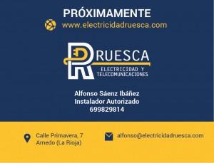 Servicio Eléctrico Ruesca. Datos de contacto