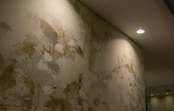 Luz LED en Salón de Casa Particular