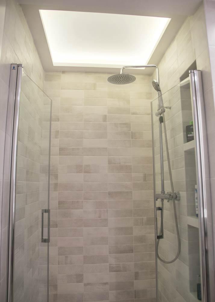 Iluminación para ducha